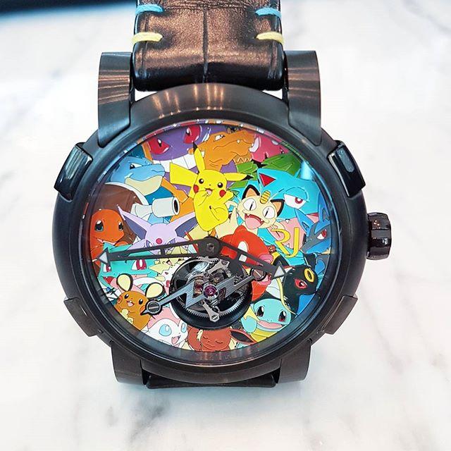 tourbillon pokemon romain jerome watches